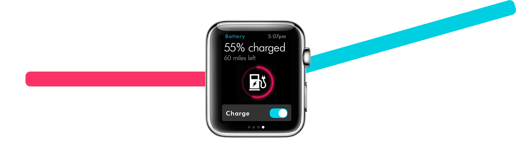 iwatch face charging