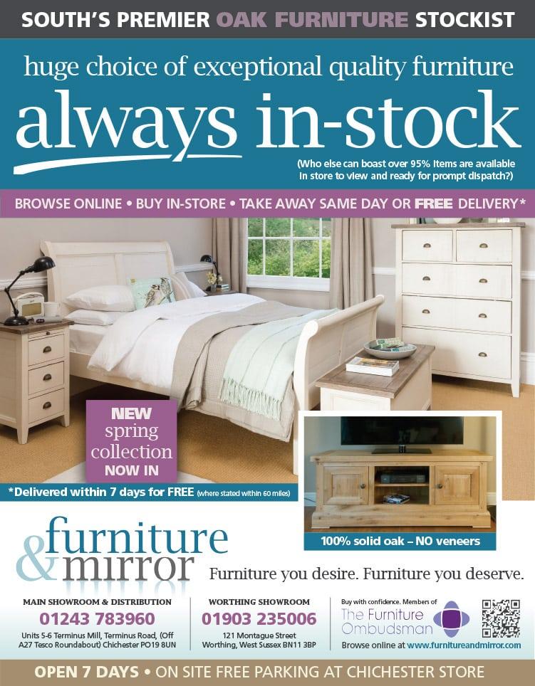 Furniture & Mirror Advert 050215
