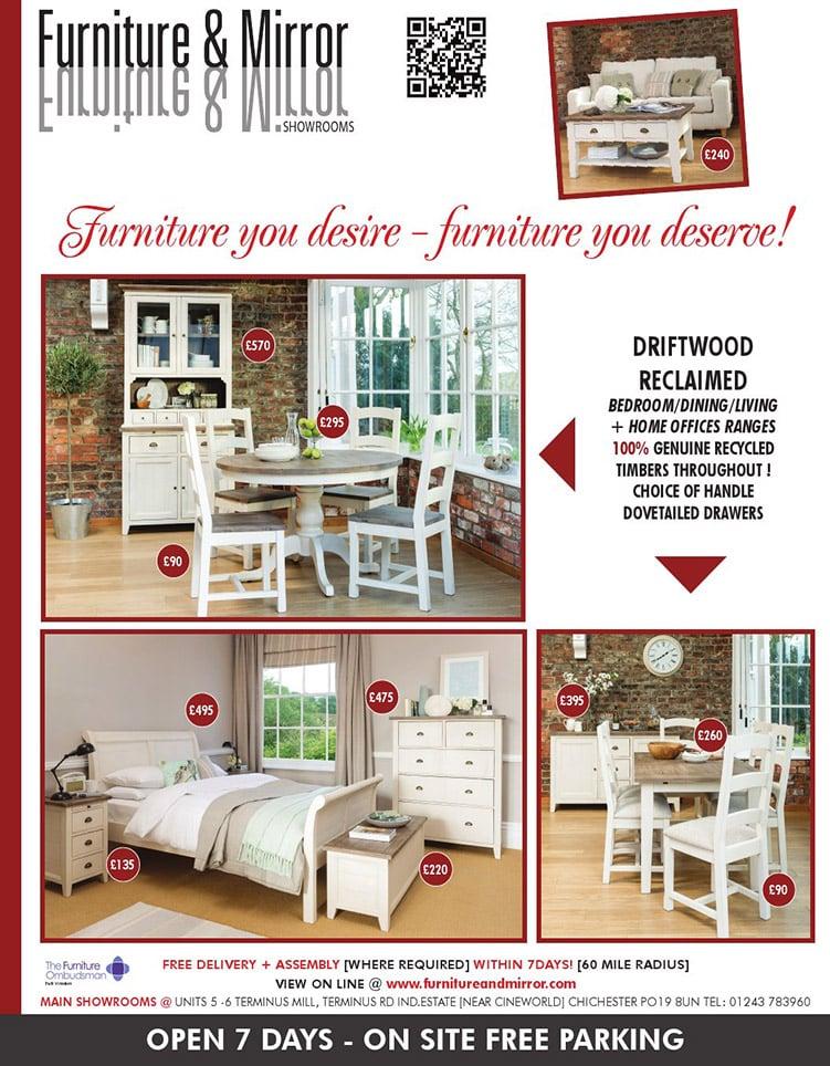 Furniture & Mirror Advert 060514
