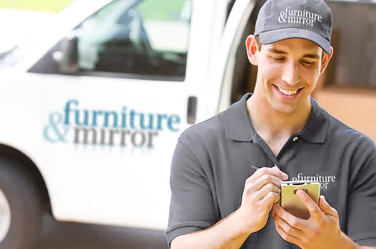 Furniture & Mirror Delivery Van