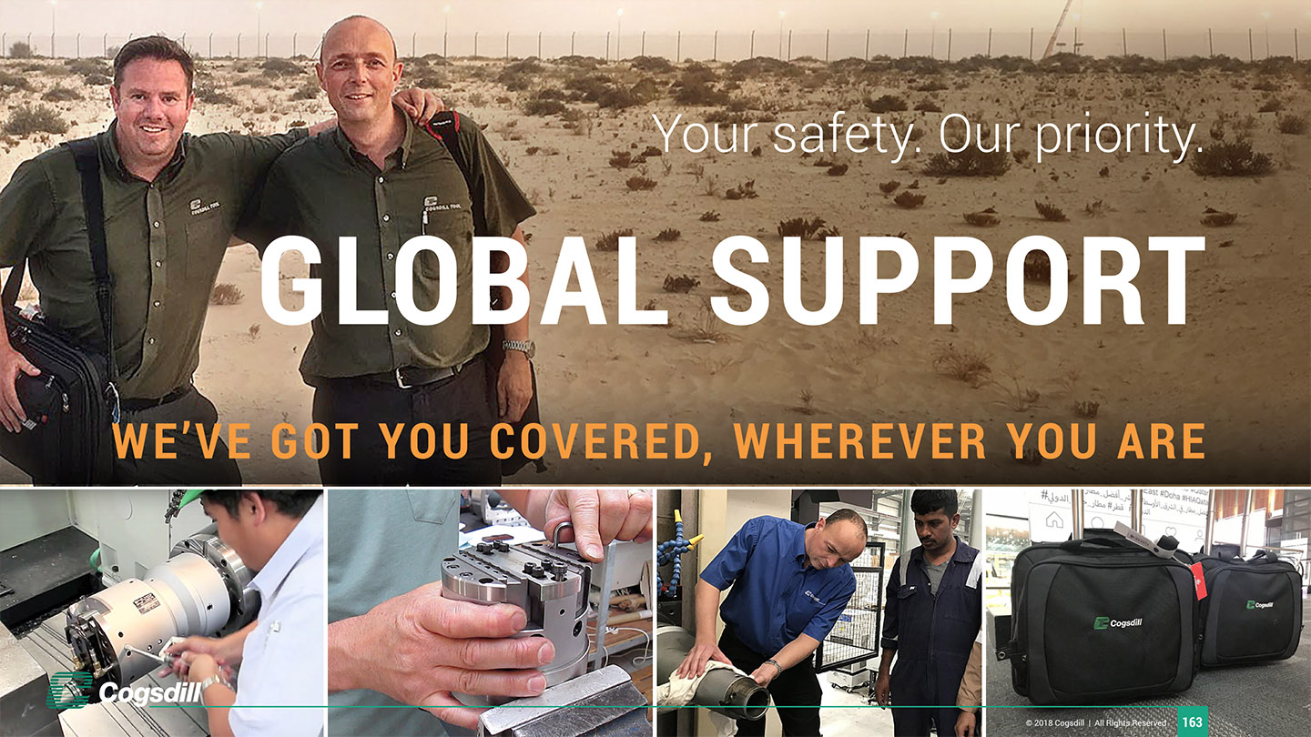 Cogsdill Deck Global Technical Support