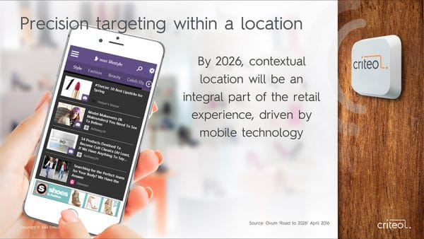 Criteo Presentation Deck Beacon Location