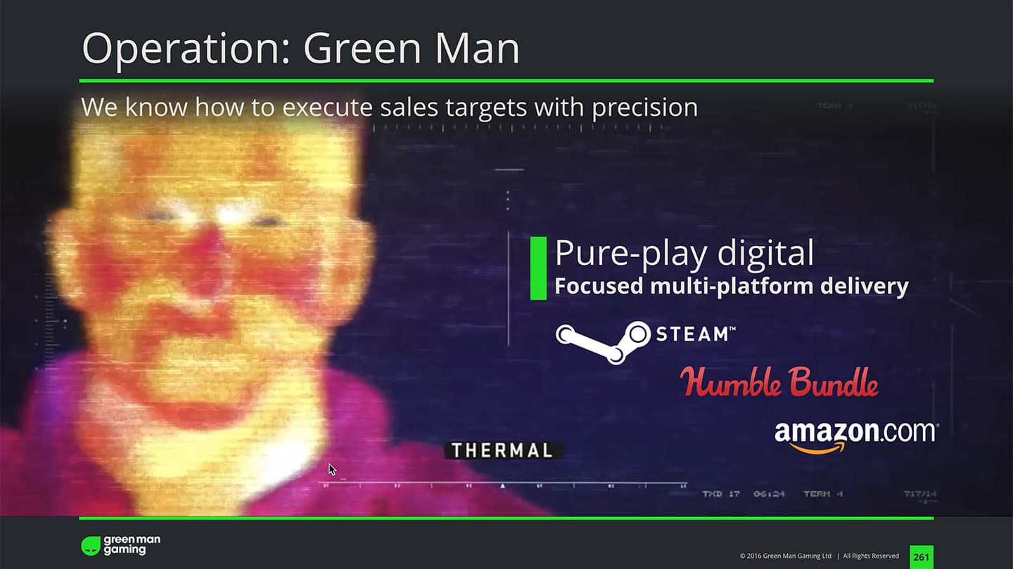 greenman gaming keynote operation