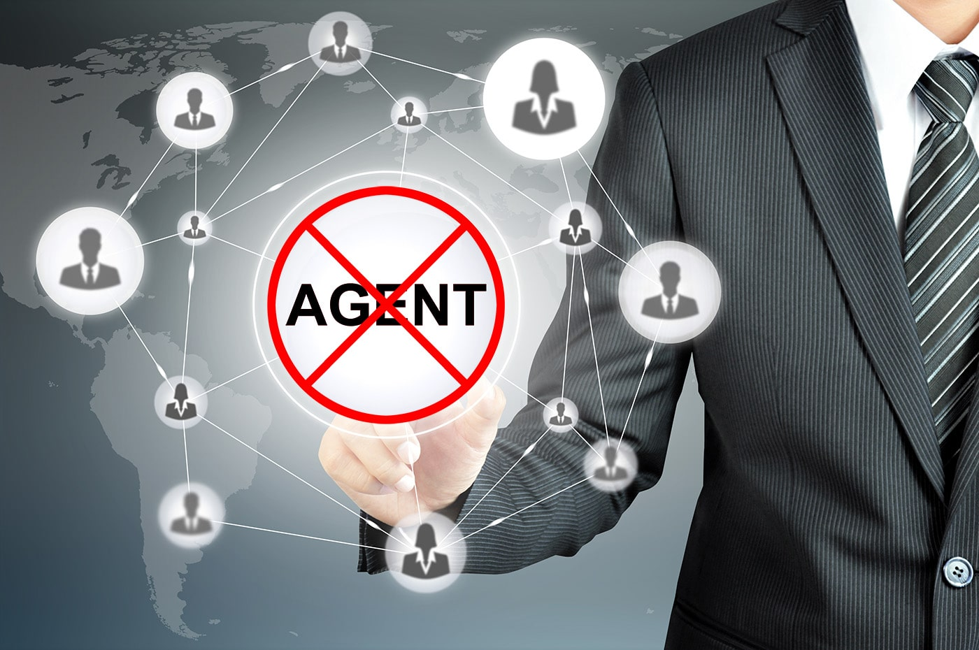 No middleman agencies