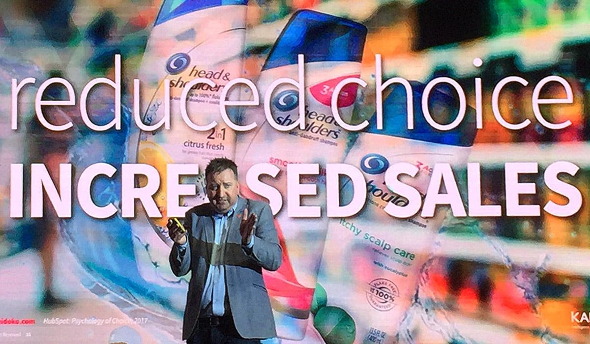 Dean Donaldson presenting at AdAsia 2017