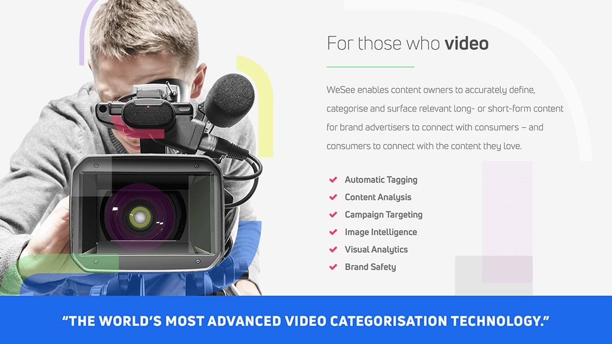 We See For Those Who Video