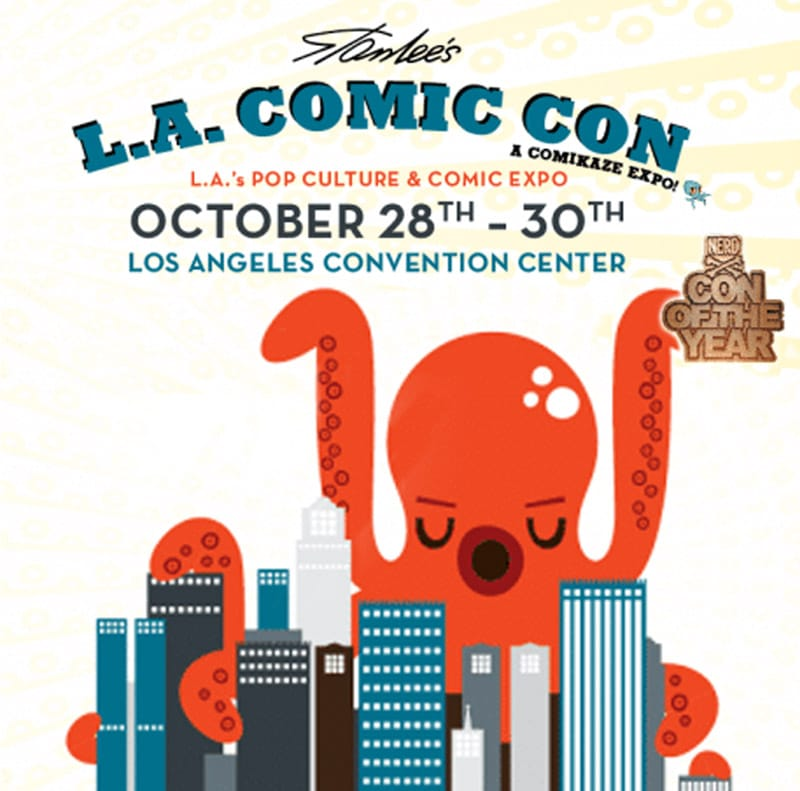 LA Comic-Con 17 Advert