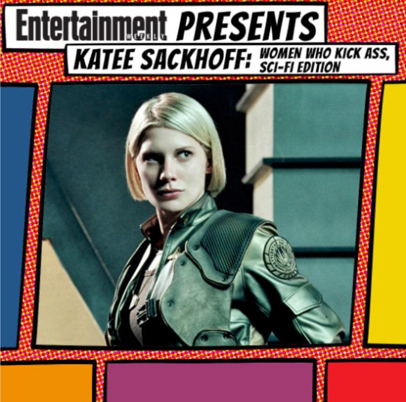 LA Comic-Con 17 Katie Sackoff